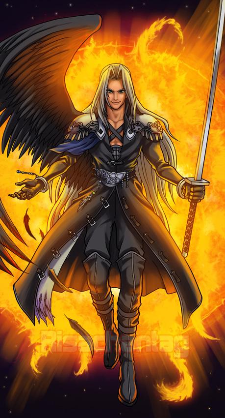 FF Dissidia: Sephiroth by Risachantag