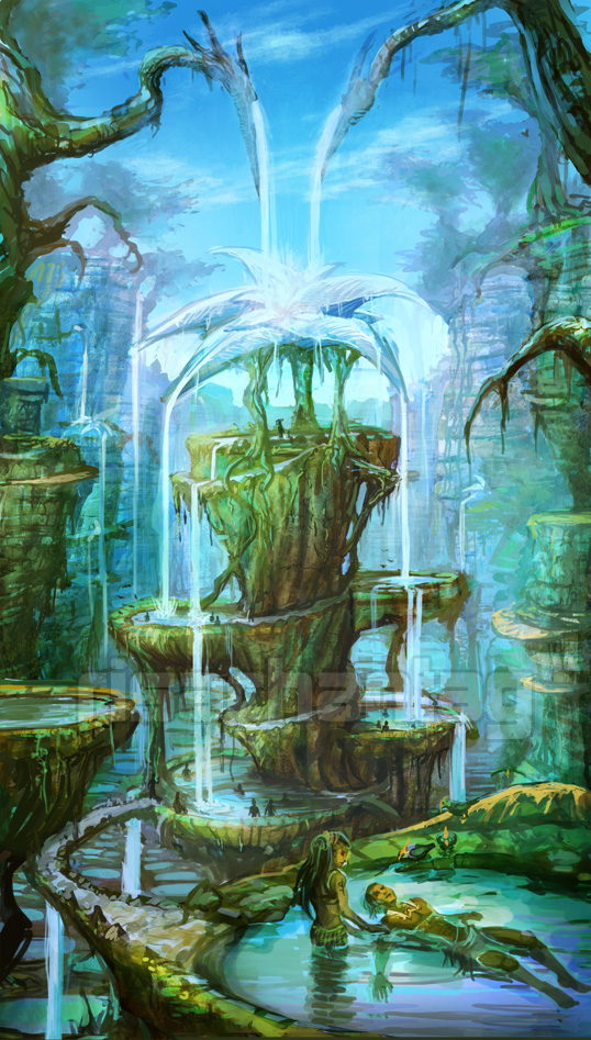 Original: Healing Springs by Risachantag
