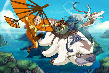 Avatar TLA: Caught by the Wind by Risachantag