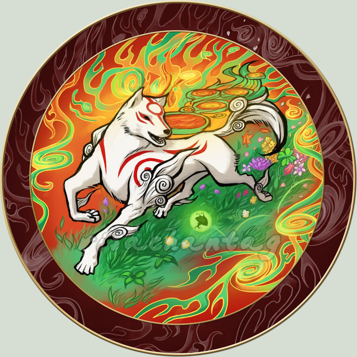 Okami: Celestial Mirror by Risachantag