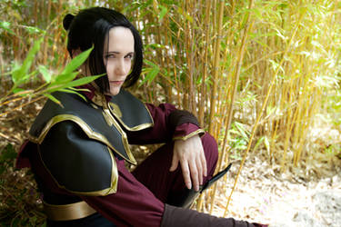 Cosplay: Azula in the bamboo by Risachantag