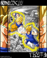 Gokuu Versus Vegeta by Risachantag
