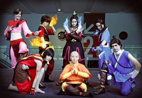 Cosplay: Avatar tLA Group by Risachantag