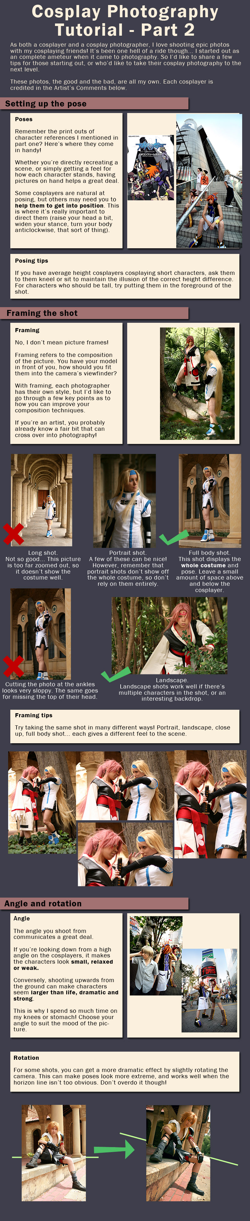 Cosplay Photography Tutorial 2