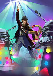 Doctor Who: Disco Daleks by Risachantag