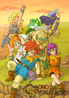 Chrono Trigger Team Poster by Risachantag