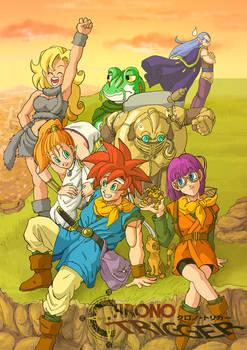 Chrono Trigger Team Poster