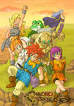 Chrono Trigger Team Poster