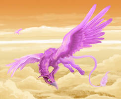 Purple Gryphons by Risachantag