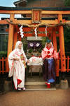 Cosplay: Amaterasu + Waka in Japan