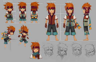 Freedom Fall: Marsh character sheet by Risachantag