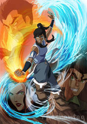 Legend of Korra by Risachantag