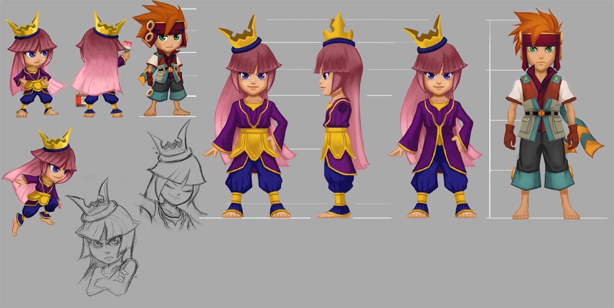 Freedom Fall: The Princess character sheet by Risachantag
