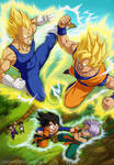 Dragonball Z: Fathers and Sons