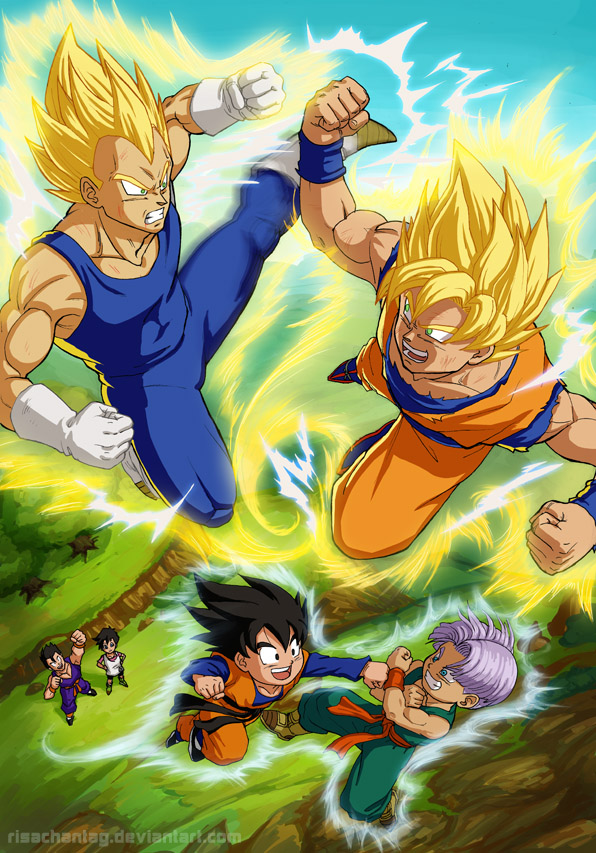 Dragonball Z: Fathers and Sons by Risachantag