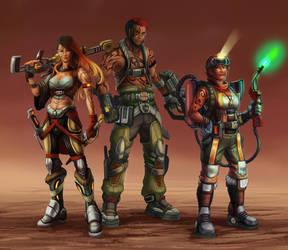 Codex Astra: Bounty Hunters by Risachantag