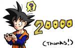 DBZ: 20000 Hits by Risachantag