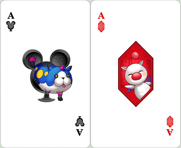 KH: Ace of Clubs and Diamonds by Risachantag
