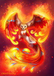 Phoenix Fox by Risachantag