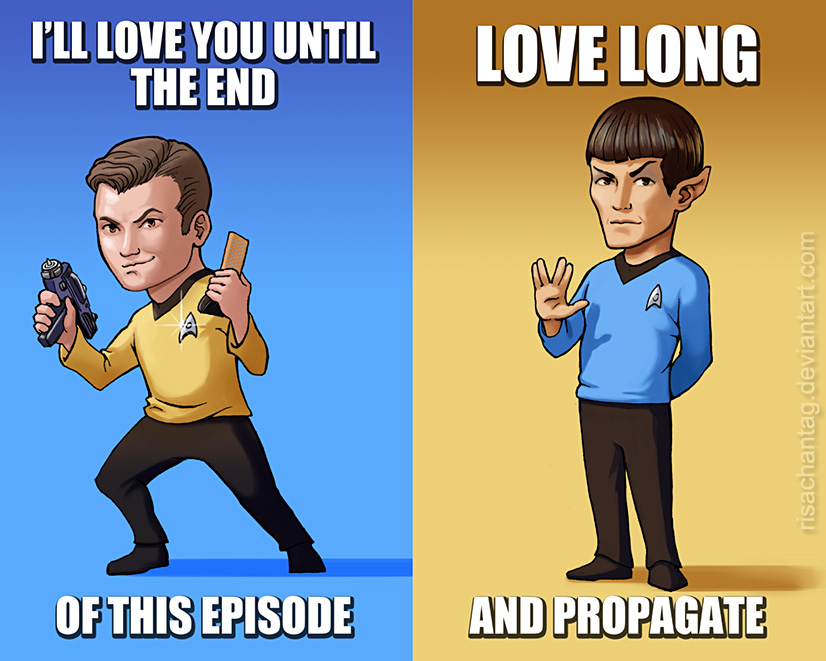 Star Trek Valentines by Risachantag