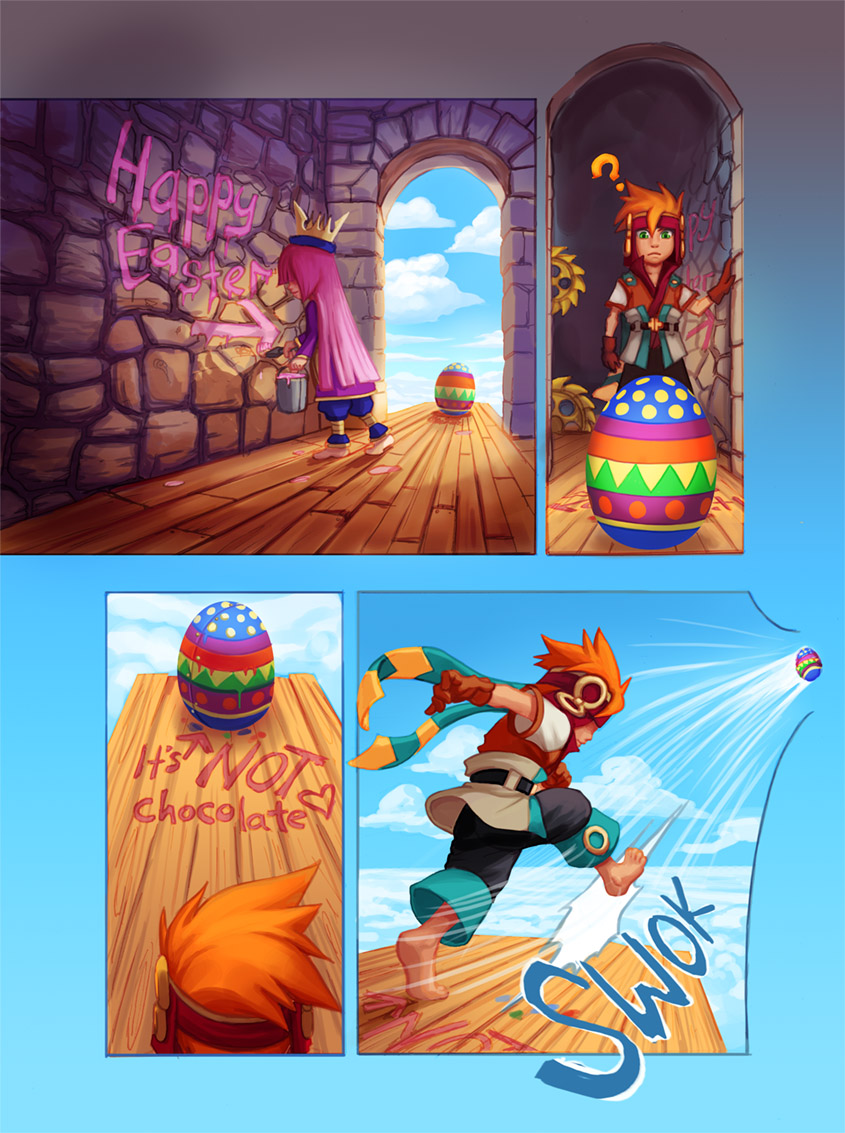 Freedom Fall: Happy Easter! by Risachantag