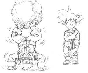 Naruto and Goten by Risachantag