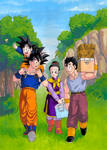 DBZ: Son Family Painting
