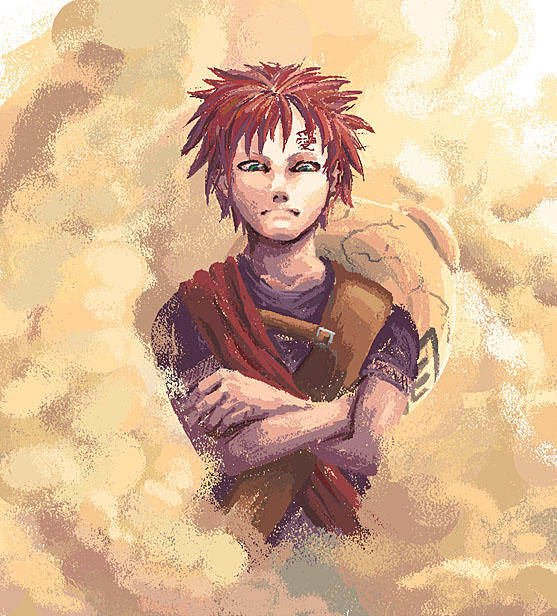 Naruto: Sabaku No Gaara By Risachantag On DeviantArt
