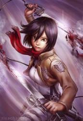 SnK: Mikasa Ackerman