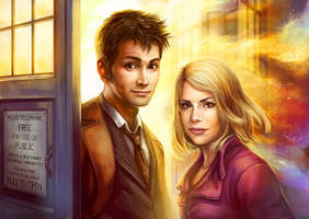Doctor Who: Box Full of Stars by Risachantag