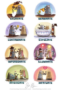 Doctor Who: Dalek Dialect