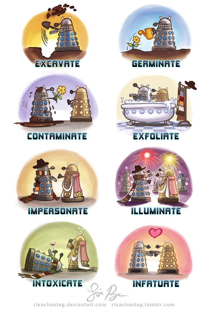Doctor Who: Dalek Dialect by Risachantag