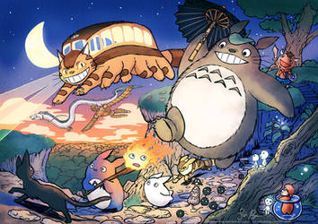 Ghibli: Creatures and monsters