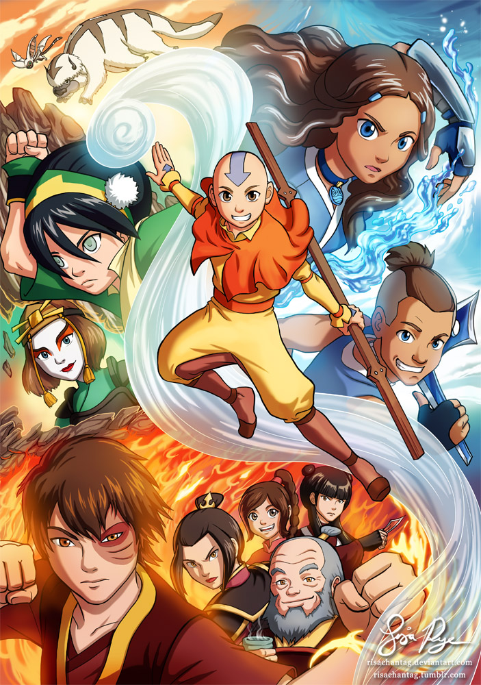 Avatar TLA: All Things in Balance by Risachantag
