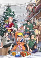 Naruto: Christmas by Risachantag