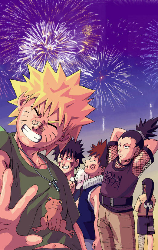 Naruto: New Year's by Risachantag