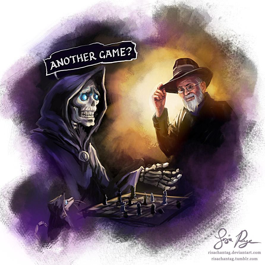 Terry Pratchett by Risachantag