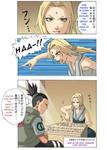 Naruto: Tsunade VS Shikamaru