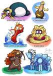 Disney Princesses as Pokemon