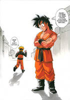 DBZ + Naruto: New Costume