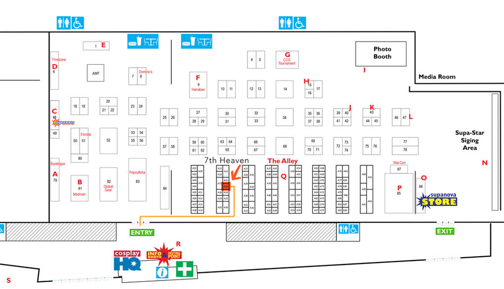 Supanova2015Map by Risachantag