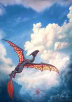 Ancient Dragons by Risachantag