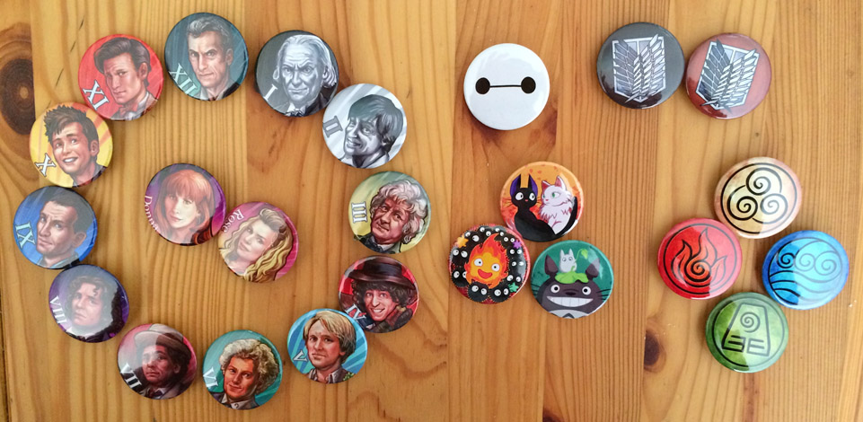 ConventionPins by Risachantag