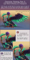 Character Painting Tutorial Part 5 - Effect layers