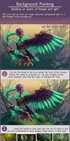 Harpy Background Painting Tutorial