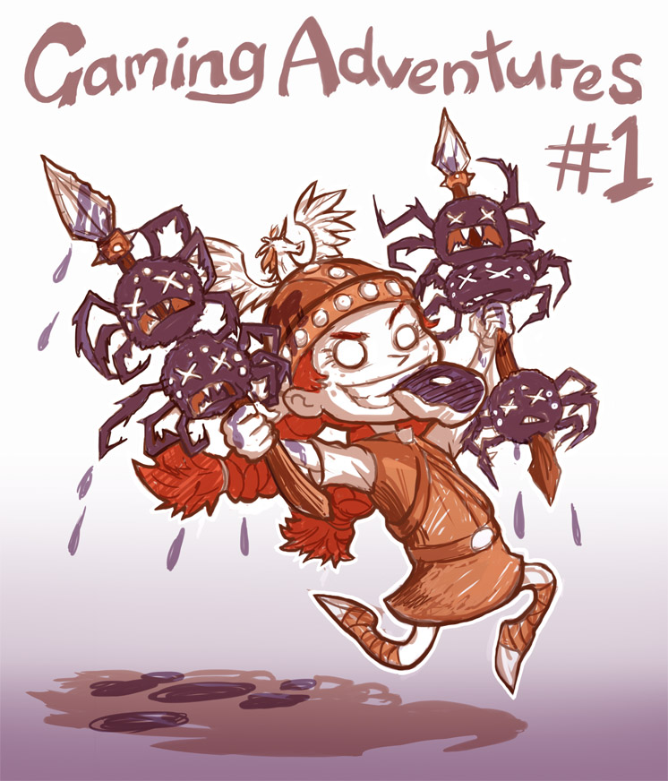 Gaming Adventures - Don't Starve by Risachantag