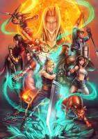 Final Fantasy VII: Supernova by Risachantag