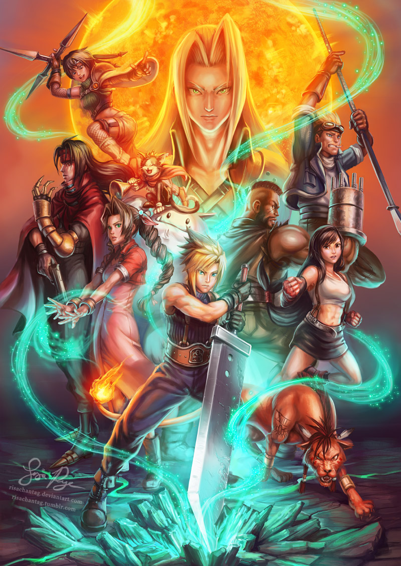 Final Fantasy Vii Supernova By Risachantag On Deviantart