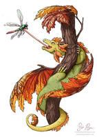 Maple Dragon by Risachantag