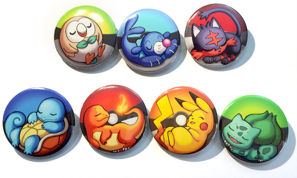 PokemonStarterBadges by Risachantag